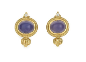 Blue-Chalecedony-cabachon-valois-earrings-EVA25062