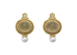 Chequerboard-lemon-citrine-valois-earrings-set-with-diamonds_and_pearls-EVA22038-600×434