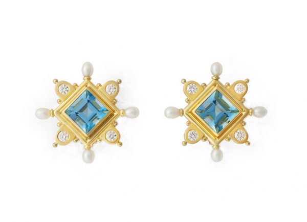 Cross-earrings-with-square-aqamarine-stones-and-biwa-pearls-CRS26424-600×434