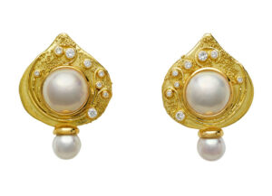 Elizabeth_Gage_Drp_Pearl_Shiraz_Earrings_ESH25613