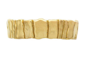 Elizabeth_Gage_Gold_Bark_Bracelet_BAG22586HR
