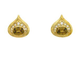 Elizabeth_Gage_Golden_Zircon_Isfahan_Earrings_ISF24504
