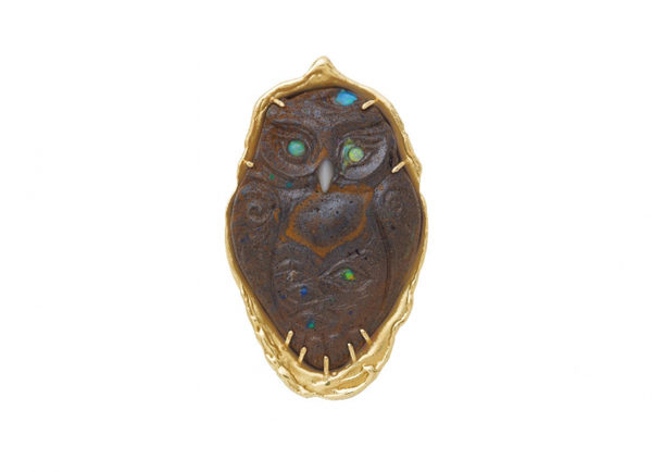 Elizabeth_Gage_Noche_Owl_Carved_Opal_Pin_PIN25567-600×434