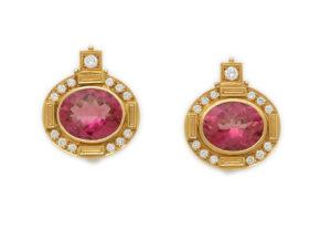 Elizabeth_Gage_Persian_Queen_Rubellite-Earrings_PRQ22049