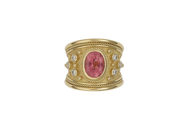 Faceted-Rubellite-tapered-templar-ring-with-twisted-wre-detailing-and-diamonds-TTS26598