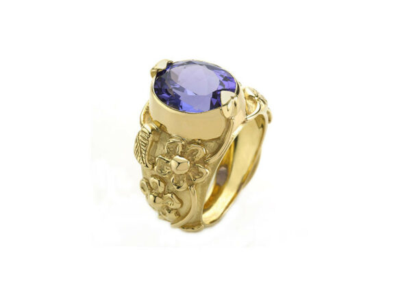 Flowers-and-Leaves-Tanzanite-ring-MIS25614