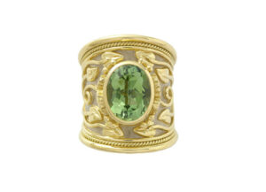Green-tourmaline-Tapered-templar-ring-TTL25460