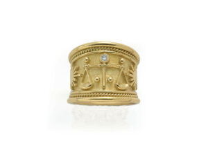 Libra-Zodiac-tapered-templar-ring-ZNS24