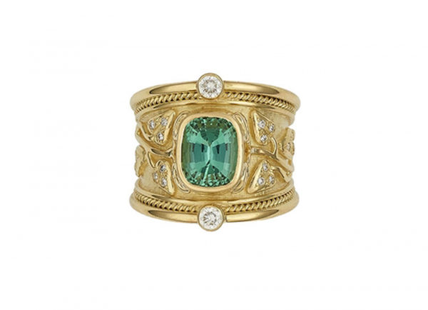 Mint-green-Tourmaline-tapered-templar-ring-with-myrtle-leaves-and-diamonds-TTS25745-600×434