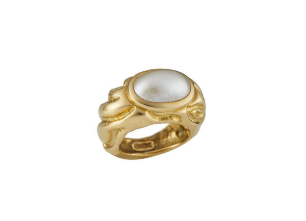 Molten-Gold-Pearl-ring-MLG24308