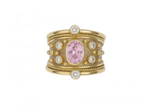 Pink-spinel-tapered-templar-ring-with-Diamonds-TOP-VIEW-TTS26599-600×434