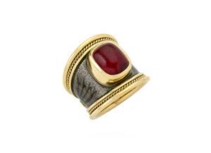 Red-tourmaline-tapered-templar-ring-TTB25765