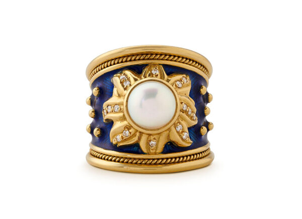 Blue Sun Ring