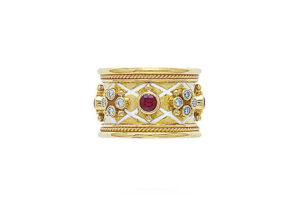 Templar-Ruby-enamel-ring-21208