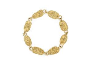Wire-and-granulation-bracelet-BAG25469