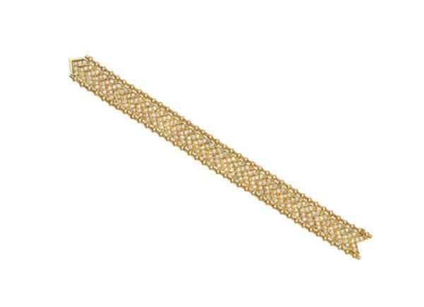 chevron agincourt bracelet