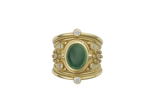 oval-cabachon-Tsavorite-tapered-templar-ring-with-diamonds-TTS26637