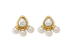 Pearl African Queen Earrings AFQ26834