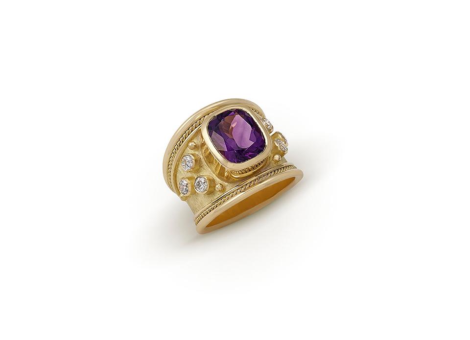 Elizabeth Gage Templar Ring