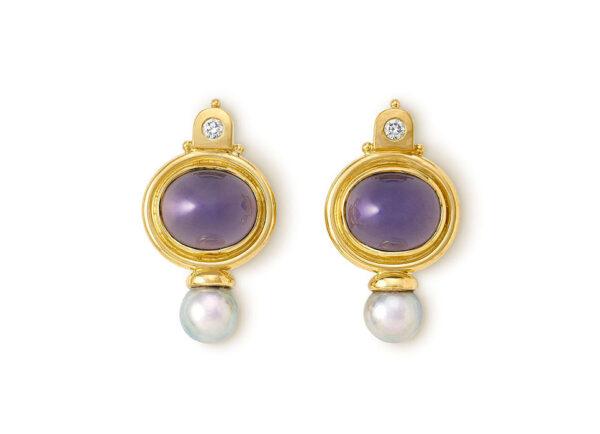 Chalcedony Valois Earrings