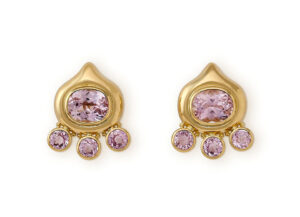 Kunzite African Queen Earrings