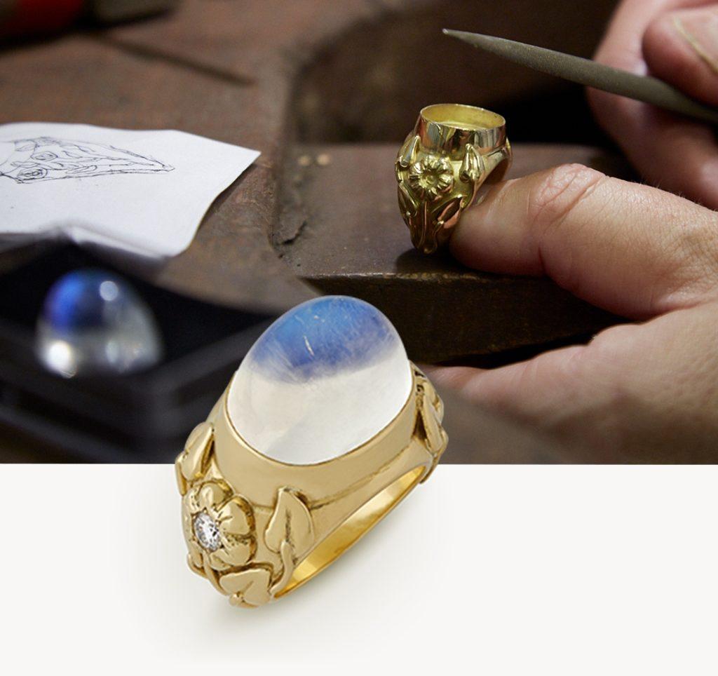 Elizabeth Gage luxury rings