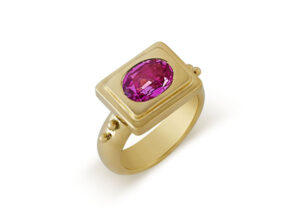 Pink Sapphire Valois Ring