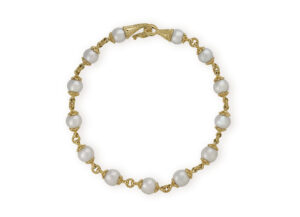 South Sea Cultured Pearl Necklace with Dragon Clasp