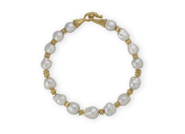 South Sea Cultured Baroque Pearl Necklace