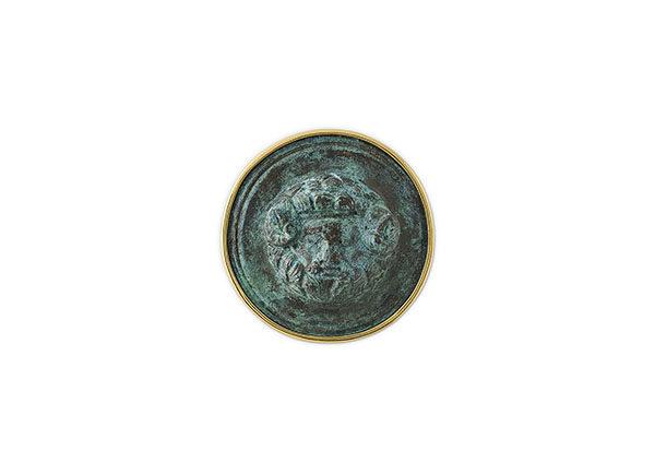 18ct gold ancient pin
