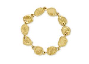 Molten Gold Link Bracelet