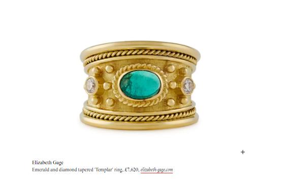 Tatler: Vibrant emerald jewels for glittering May birthdays